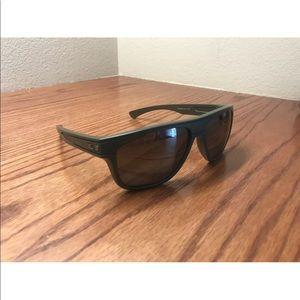 "Oakley Breadbox Polarized Sunglasses ""matte moss"""